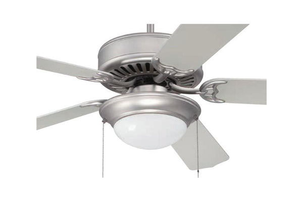 "Craftmade C209BN 52"" Pro Builder 209 Ceiling Fan in Brushed Nickel"