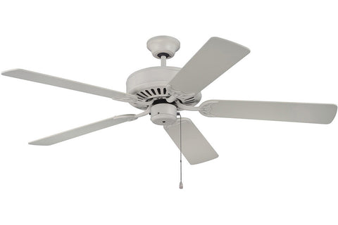"Craftmade C52AW 52"" Pro Builder Ceiling Fan in Antique White"