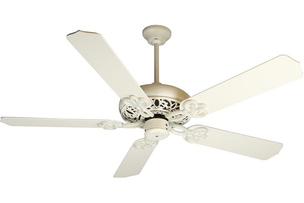 "Craftmade CC52AWD 52"" Cecilia Ceiling Fan in Antique White Distressed"