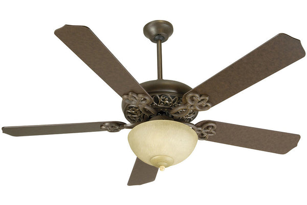 "Craftmade CCU52AG 52"" Cecilia Unipack Ceiling Fan in Aged Bronze"