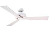 "Emerson CF320WSW 44"", 54"", 60"", 72"" Keane in Satin White with Satin White/Maple Blades"