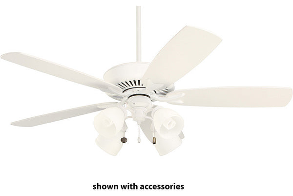 Emerson CF4801SW Premium Select in Satin White - Show with White Blades (Sold Separately)