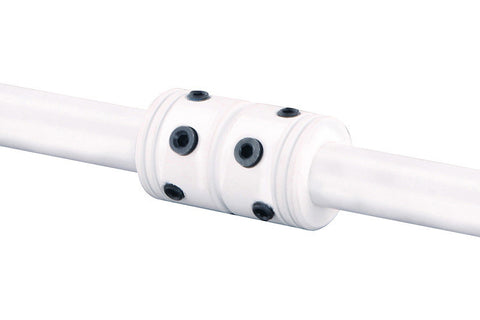 Emerson CFDCSW Satin White Downrod Coupler