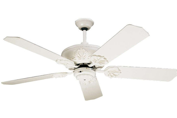 "Craftmade CV52AW 52"" Cordova Ceiling Fan in Antique White"