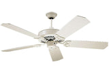 "Craftmade CXL52AW 52"" CXL Ceiling Fan in Antique White"
