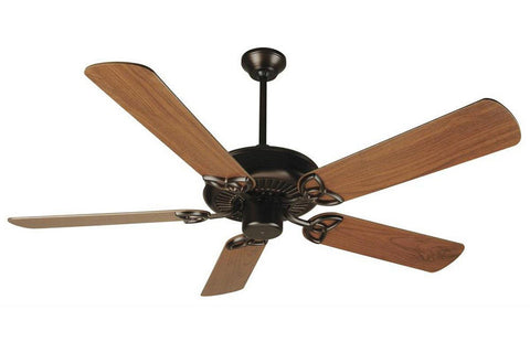 "Craftmade CXL52OB 52"" CXL Ceiling Fan in Oiled Bronze"
