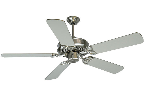 "Craftmade CXL52SS 52"" CXL Ceiling Fan in Stainless Steel"