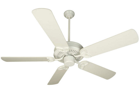 "Craftmade CXL52W 52"" CXL Ceiling Fan in Gloss White"