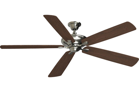 "Fanimation D1BN-B172WA 72"" Distinction DC Ceiling Fan in Brushed Nickel"