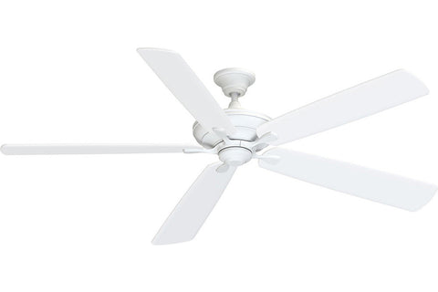 "Fanimation D1MW-B172MW 72"" Distinction DC Ceiling Fan in Matte White"