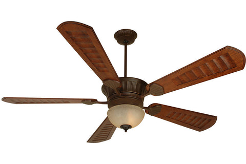 "Craftmade DCEP70AG-B570C-1-LK715CFL 70"" DC Epic Ceiling Fan in Aged Bronze"