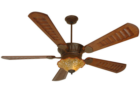 "Craftmade DCEP70AG-B570C-1-LKE307CFL 70"" DC Epic Ceiling Fan in Aged Bronze"