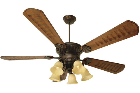 "Craftmade DCEP70OB-B570C-1-LK37CFL-OB 70"" DC Epic Ceiling Fan in Oiled Bronze"
