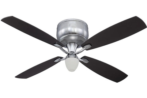 "Craftmade DE52CH4 52"" Delos II Ceiling Fan in Chrome"
