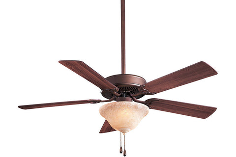 "Minka Aire F548-ORB-EX 52"" Contractor Unipack Ceiling Fan in Oil Rubbed Bronze"