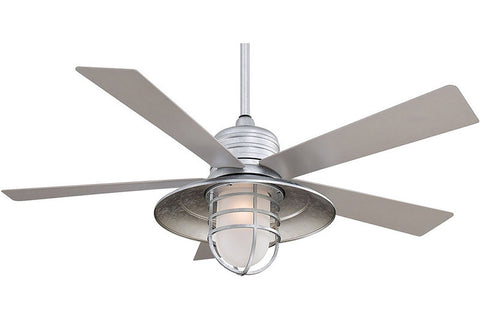 "Minka Aire F582-GL 54"" Rainman in Galvanized"