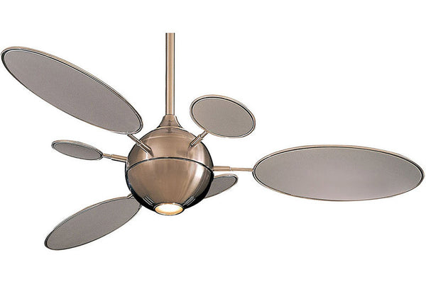 "Minka Aire F596-BN 54"" Cirque in Brushed Nickel"