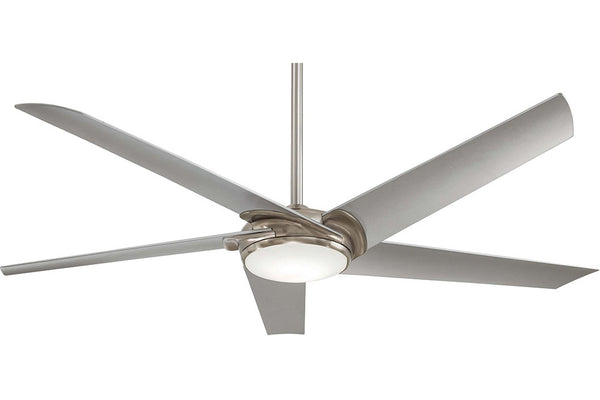 "Minka Aire F617L-BN 60"" Raptor Ceiling Fan in Brushed Nickel"