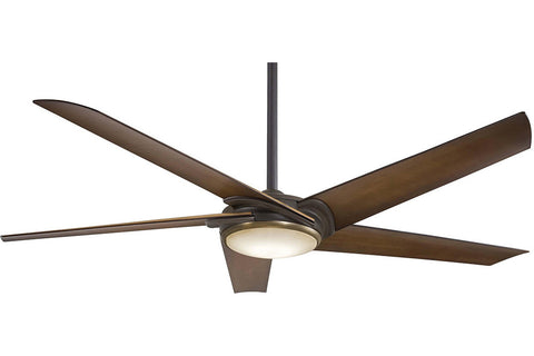 "Minka Aire F617L-ORB/AB 60"" Raptor Ceiling Fan in Oil Rubbed Bronze"