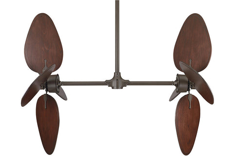 "Fanimation FP240OB-B5080CP 44"" Palisade Ceiling Fan in Oil-Rubbed Bronze"