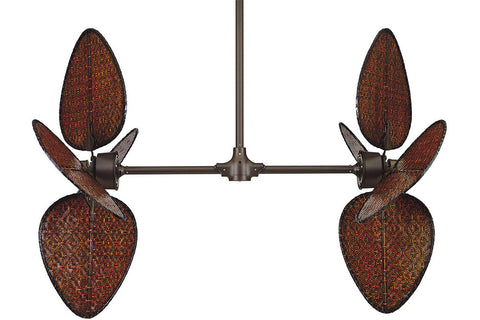 "Fanimation FP240OB-PAD1A 52"" Palisade Ceiling Fan in Oil-Rubbed Bronze"
