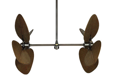 "Fanimation FP240PW 44"" Palisade Ceiling Fan in Pewter"
