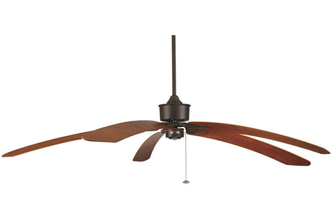 "Fanimation FP320OB1-B6000CY 80"" Islander Ceiling Fan in Oil-Rubbed Bronze"