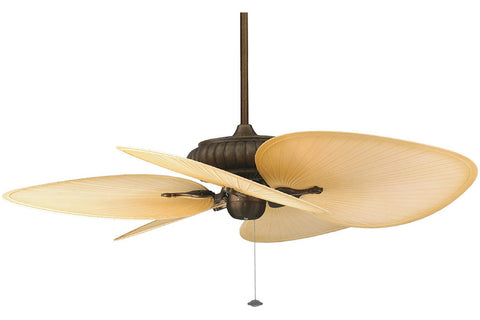 "Fanimation FP4320AZ 52"" Belleria Ceiling Fan in Aged Bronze Finish"