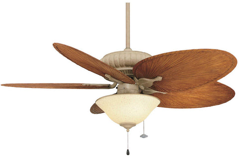 "Fanimation FP4320LT-BPP4BR-FW423LT-G459 52"" Belleria Ceiling Fan in Latte Finish"