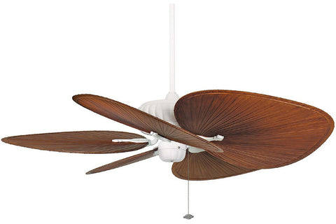 "Fanimation FP4320MW1-BPP1BR 52"" Belleria Ceiling Fan in Matte White"