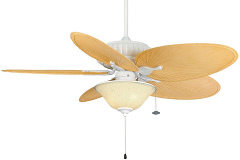 "Fanimation FP4320MW1-BPP4TN-FW423WH-G459 52"" Belleria Ceiling Fan in Matte White"