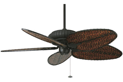"Fanimation FP4320TB 52"" Belleria Ceiling Fan in Textured Black"