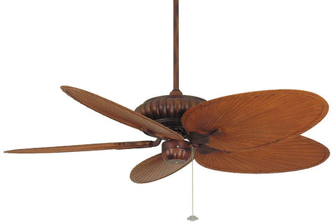 "Fanimation FP4320TS1-BPP4BR 52"" Belleria Ceiling Fan in Tortoise Shell"