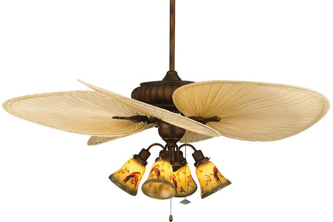 "Fanimation FP4320TS1-ISP1-F404TS-G239 52"" Belleria Ceiling Fan in Tortoise Shell"