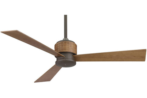 "Fanimation FP4620OB-HA4620CY 54"" The Zonix Ceiling Fan in Oil-Rubbed Bronze"