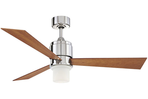 "Fanimation FP4620PN-LK4620PN 54"" The Zonix Ceiling Fan in Polished Nickel"