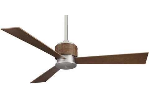 "Fanimation FP4620SN-HA4620WA 54"" The Zonix Ceiling Fan in Satin Nickel"