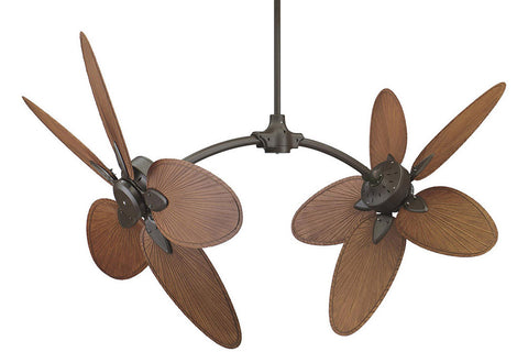 "Fanimation FP7000OB-CABPP4BR 52"" The Caruso Ceiling Fan in Oil-Rubbed Bronze"