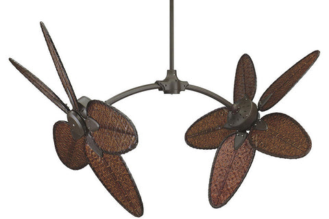 "Fanimation FP7000OB-CAISD4A 52"" The Caruso Ceiling Fan in Oil-Rubbed Bronze"