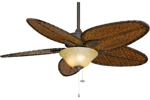 "Fanimation FP7500RS-F423RS-G450 52"" Windpointe Ceiling Fan in Rust"