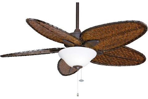 "Fanimation FP7500RS-F423RS-G456 52"" Windpointe Ceiling Fan in Rust"