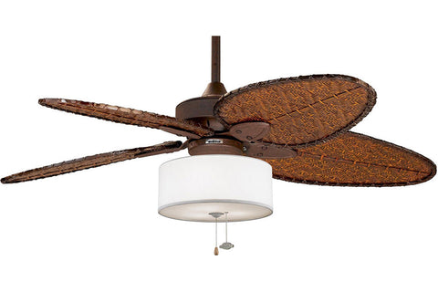 "Fanimation FP7500RS-LK113WH 52"" Windpointe Ceiling Fan in Rust"