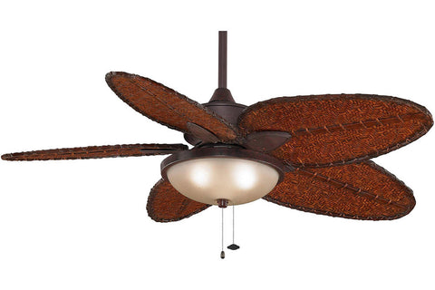 "Fanimation FP7500RS-LK114ARS 52"" Windpointe Ceiling Fan in Rust"