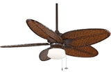 "Fanimation FP7500RS-LKLP102RS 52"" Windpointe Ceiling Fan in Rust"