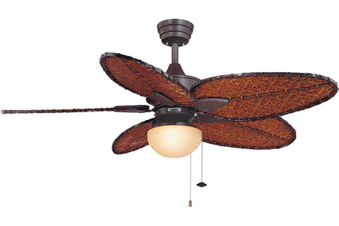 "Fanimation FP7500RS-LKLP111ARS 52"" Windpointe Ceiling Fan in Rust"
