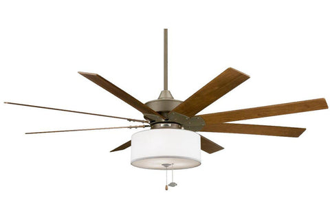 "Fanimation FP7910OB-LK113WH 63"" Levon Ceiling Fan in Oil-Rubbed Bronze"