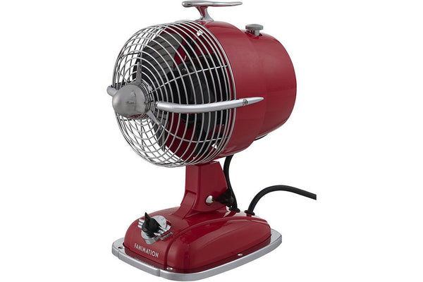 "Fanimation FP7958SR 6"" Urbanjet Table Top Fan in Spicy Red"