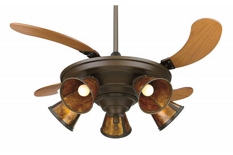 "Fanimation FP825OB 43"" Air Shadow Multilight Ceiling Fan in Oil-Rubbed Bronze"