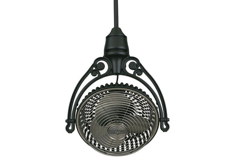"Fanimation FPH210PW-FPH81BL 19"" Old Havana Ceiling Mount Single Head Fan in Pewter"