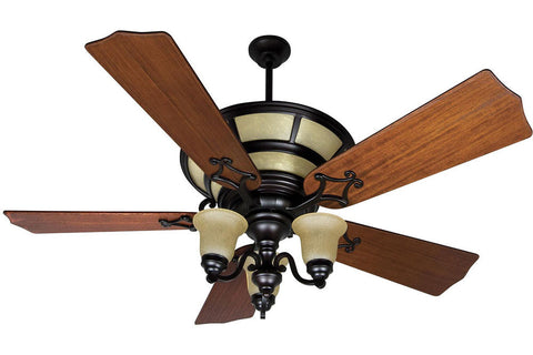 "Craftmade HA52OB-B556C-T5 56"" Hathaway Ceiling Fan in Oiled Bronze"
